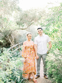 John + Brittany | Arizona Arboretum Engagement