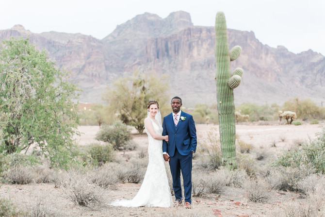 John & Emily | Desert Wedding at The Paseo