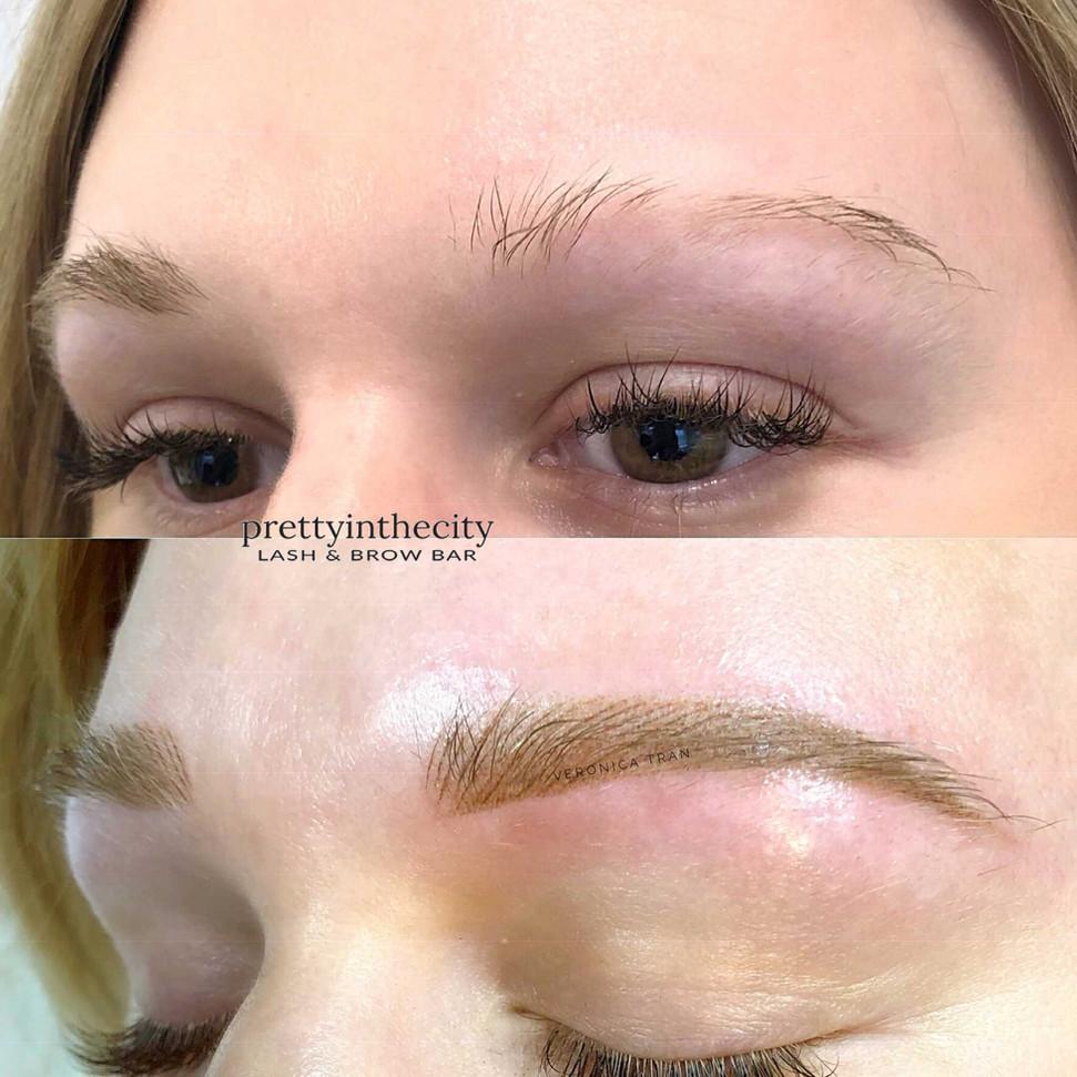 Eyebrow tattoo for Alopecia