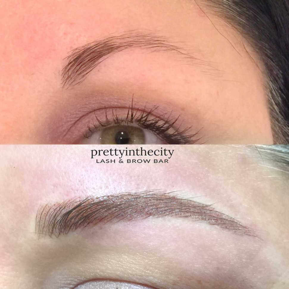 Brow Shaping with Combination brow