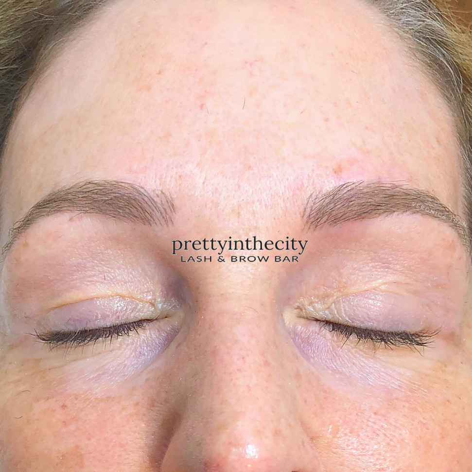 Microblading after one year