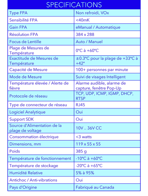 French - Respond-IR Specifications.png