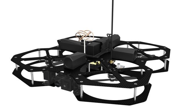 Sparrow-Hawk Interior Drone