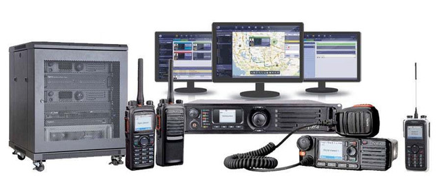 Hytera DMR Smart Dispatch Components