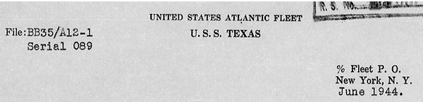 US Texas war diary