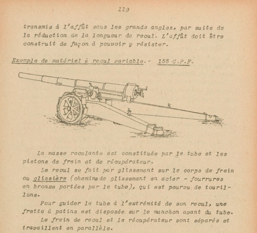 French manual for the GPF