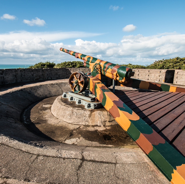 Gun Emplacement Number 1 Batterie Moltke