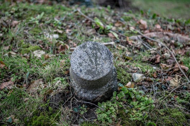 War Department Marking Stone