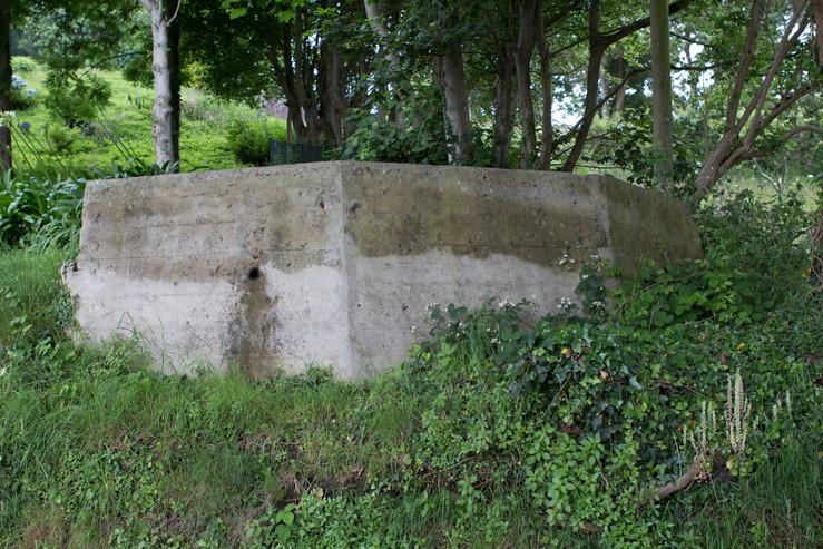 10.5cm French gun position