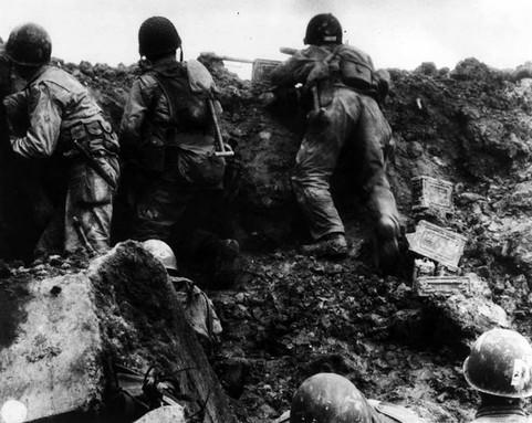 Pointe du Hoc fighting