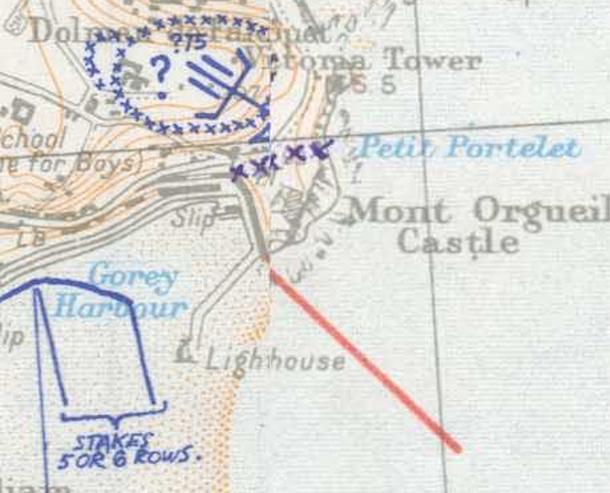 WN Hafen Gorey 1944 SHAEF