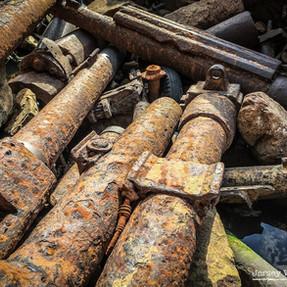 WW2 Artillery Graveyard