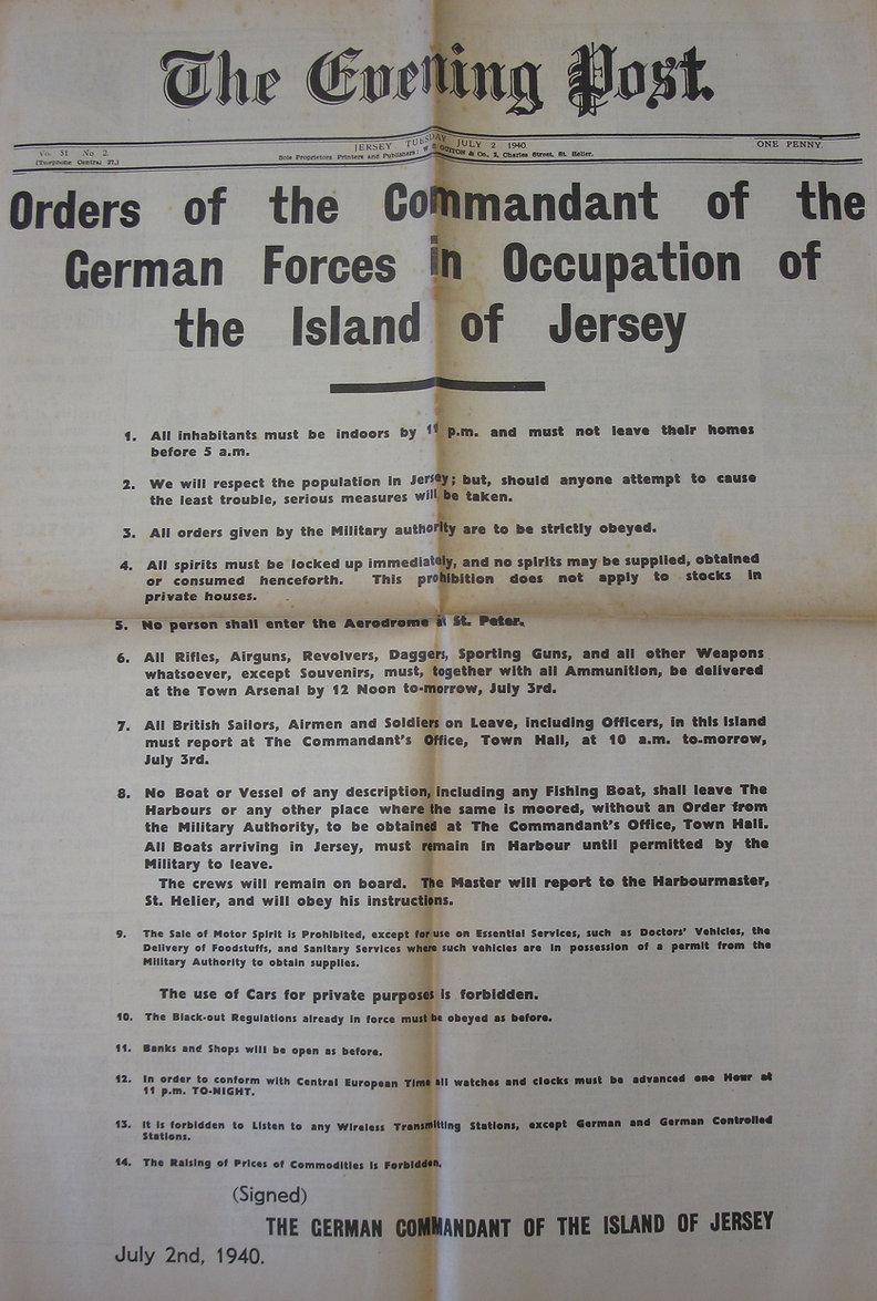 2nd July 1940