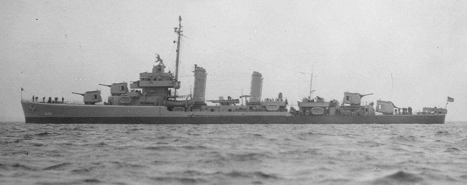 USS Satterlee D626