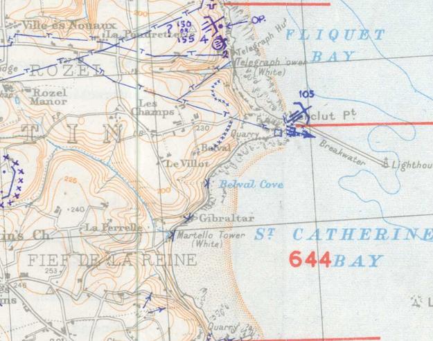 SHAEF 1944 Map
