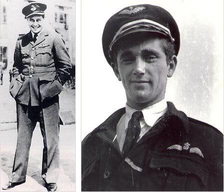 Squadron Leader Bushell and Lieutenant Scheidhauer