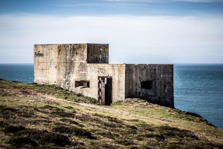 Army M2 Observation bunker