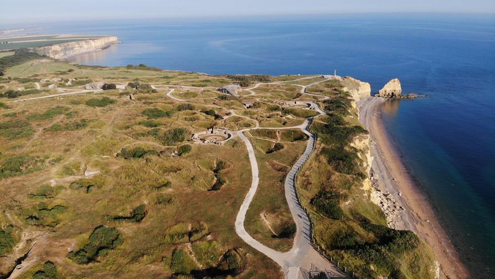 Pointe du Hoc Aerial