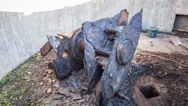 Remains of the Seetackt Radar