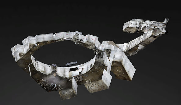 3d Scan of Batterie Moltke