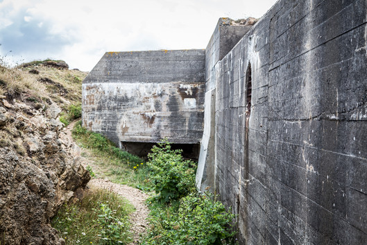 Generator Bunker for the Tower Radar