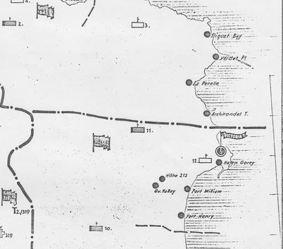 German 1944 Infantry Map