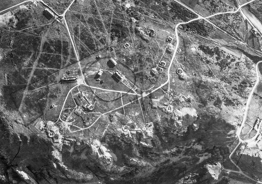 Batterie Moltke Aerial Photo