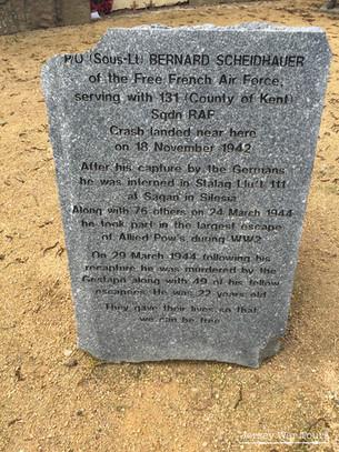 Lieutenant Scheidhauer Memorial