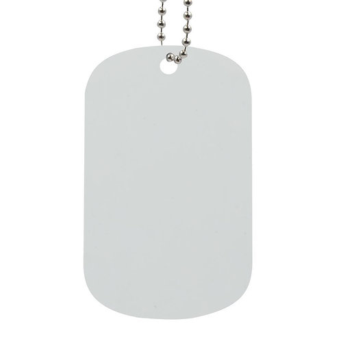 "Dog Tag with 30"" chain"
