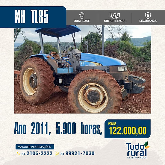 Trator New Holland  TL85