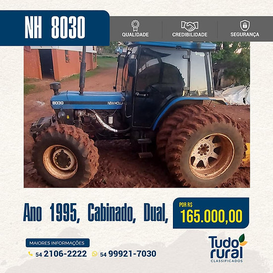 Trator New Holland / 8030