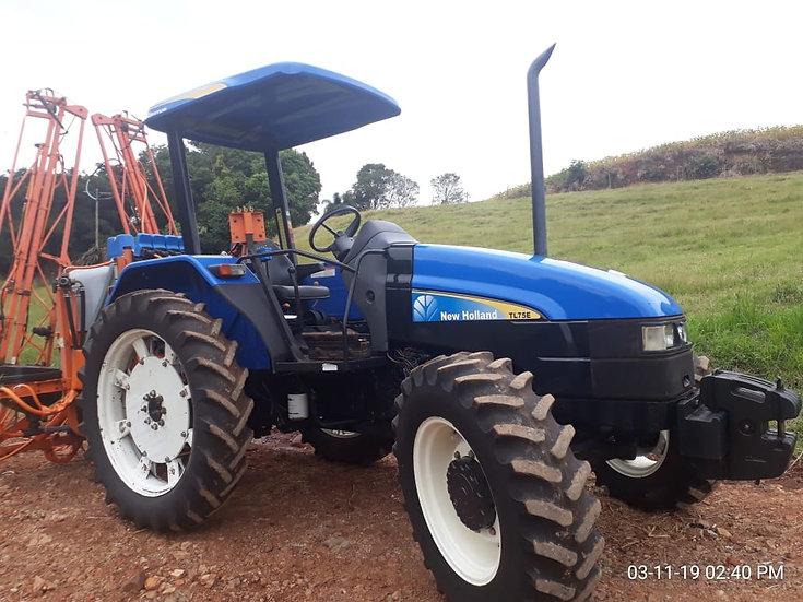 Trator New Holland  Modelo TL75