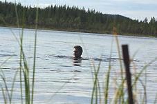 Swimming in river.JPG
