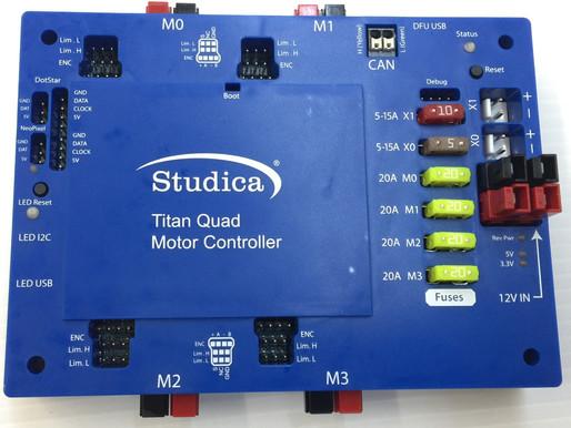 [Studica套件開箱] Titan Quad馬達控制器-控制器簡介