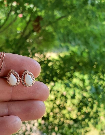 Tear drop earrings RG