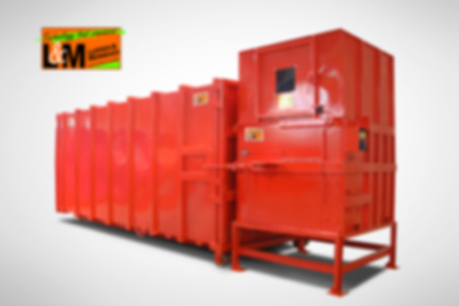 Screw compactors process difficult waste materials, cardbord pallets, pallets, compact pallets and compact products. Screw static compactors.