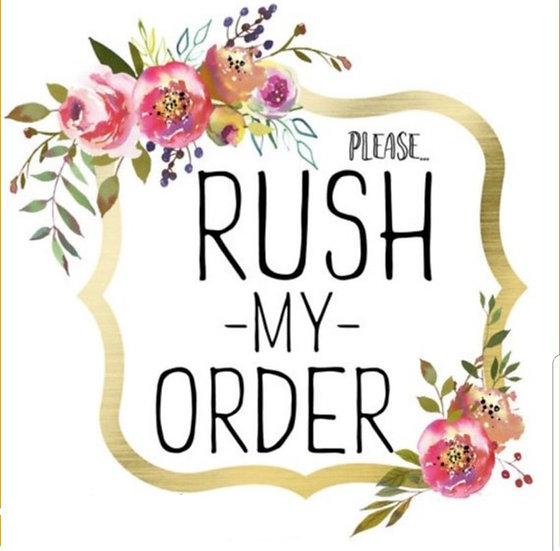 Rush order (not available for solid gold)