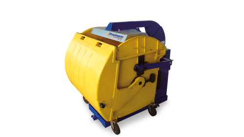 Waste Bin Compactors and bin presses, compact up to 5 bins of waste in to 1!