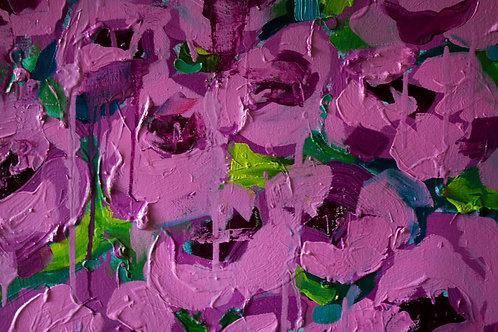 Pink Cosmic Floral