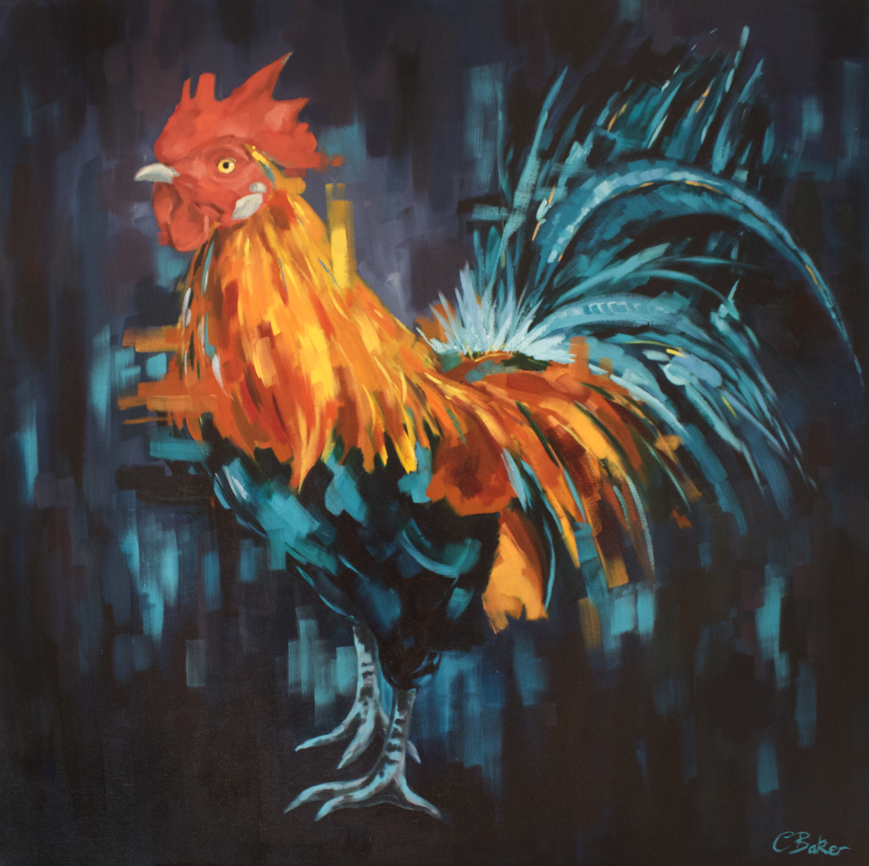 Rooster full image