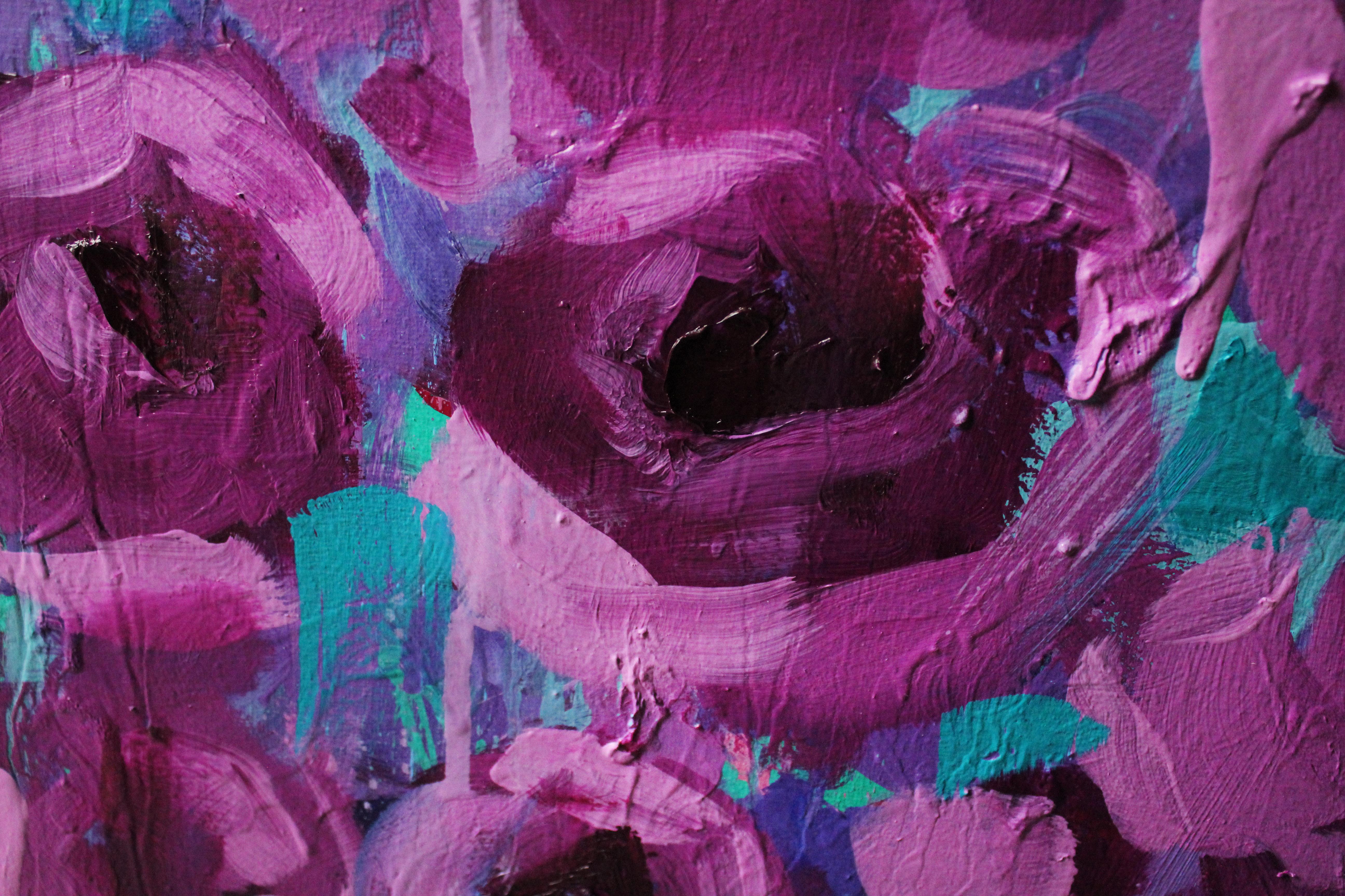 Karl floral super close up