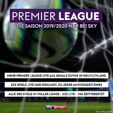 Mehr Premier League live als jemals zuvor in Deutschland: Sky überträgt in der kommenden Saison 232