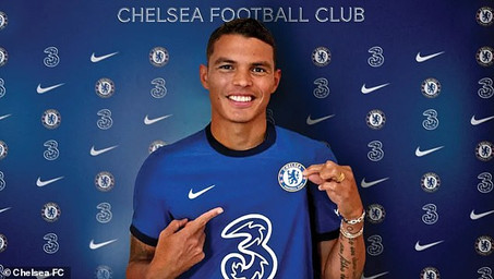 Thiago Silva unterschreibt bei Chelsea