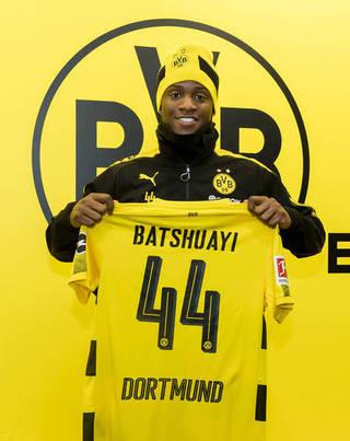 Borussia Dortmund leiht Michy Batshuayi bis Saisonende vom FC Chelsea aus