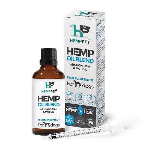 Hemp-Hoki-MCT oil blend for Dogs 100ml