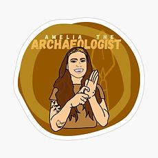 Amelia the Archaeologist logo