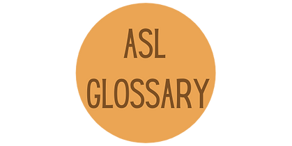 """ASL Glossary"" icon"