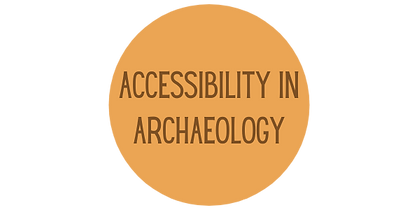 """""""Accessibility in Archaeology"""" icon"""