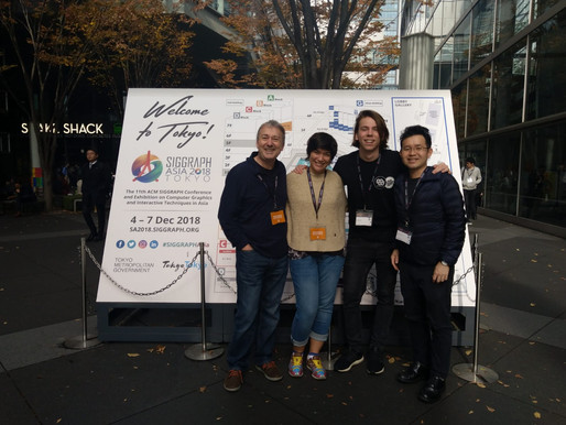 Oceans We Make goes to Tokyo & SIGGRAPH Asia