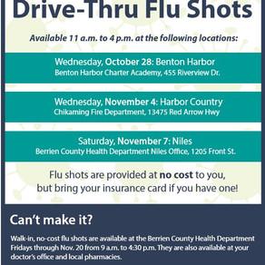 Drive-Thru Flu Shots